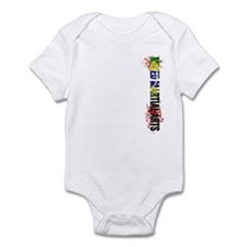 MMA Mixed Martial Arts Brazil Infant Bodysuit