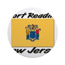 Port Reading New Jersey Ornament (Round)