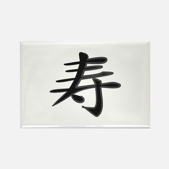 Congratulations - Kanji Symbol Rectangle Magnet