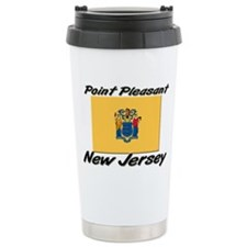 Point Pleasant New Jersey Stainless Steel Travel M