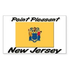 Point Pleasant New Jersey Rectangle Decal