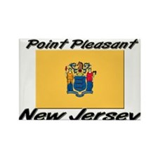 Point Pleasant New Jersey Rectangle Magnet