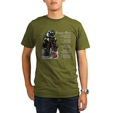 Firefighter Prayer T-Shirt
