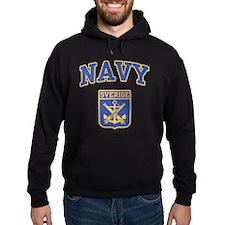 Sverige Navy Hoodie