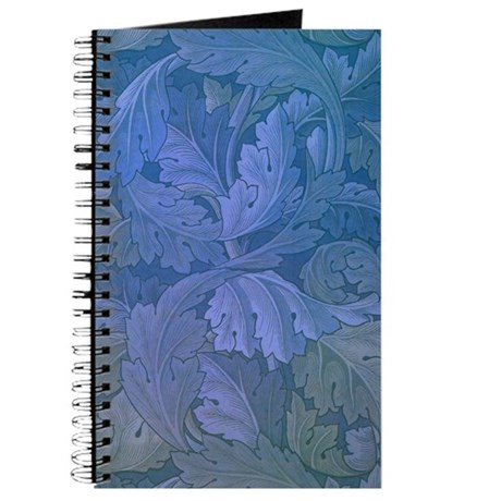 William Morris Blue Acanthus Journal