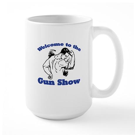 Gun Show Large Mug
