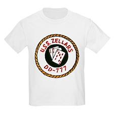 USS ZELLARS Kids T-Shirt