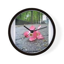 Happily Alone Wall Clock