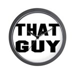 That Guy Wall Clock