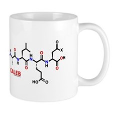 Caleb name molecule Mug