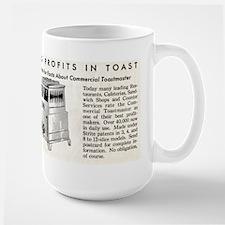 Toast Profits Large Mug