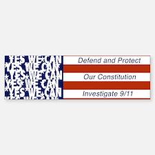 Investigate 9/11 Bumper Bumper Bumper Sticker