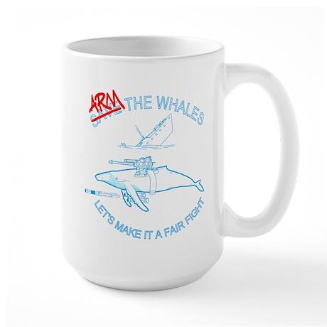 Arm the Whales Large Mug