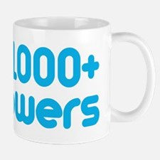 1000+ Followers Mug