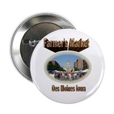 "Farmer's Market 2.25"" Button"