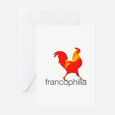 Unique Francophile Greeting Card