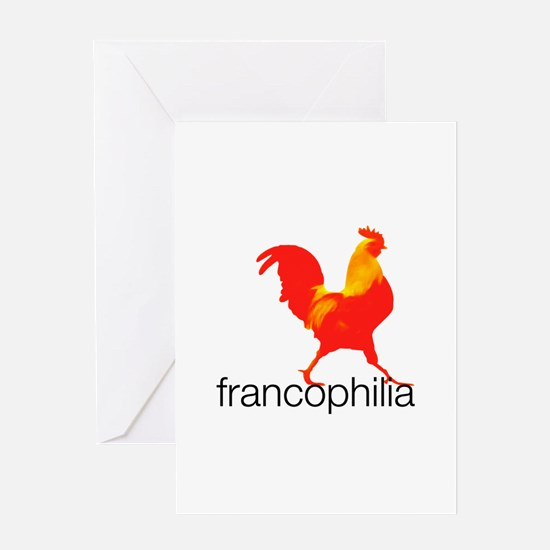 Unique Francophile Greeting Card