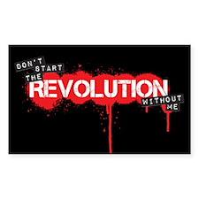 Revolution Decal