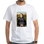 Mona Lisa's PWD (5) White T-Shirt