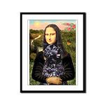 Mona Lisa's PWD (5) Framed Panel Print
