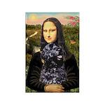 Mona Lisa's PWD (5) Rectangle Magnet