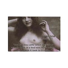 Erotic Stories: Anais Nin Rectangle Magnet