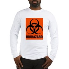 Long Sleeve Biohazard T-Shirt