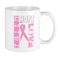 Faith Hope Love Small Mug