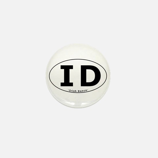 ID Oval Mini Button