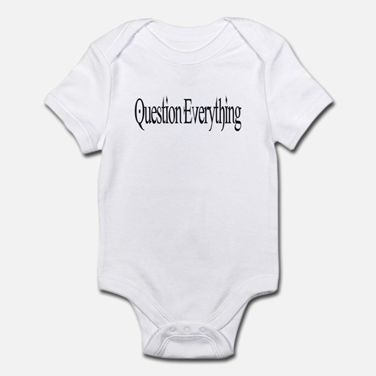 Question Everything Infant Creeper