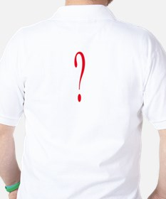 Question Everything Golf Shirt