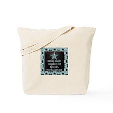 Black Floral Wedding Set Tote Bag