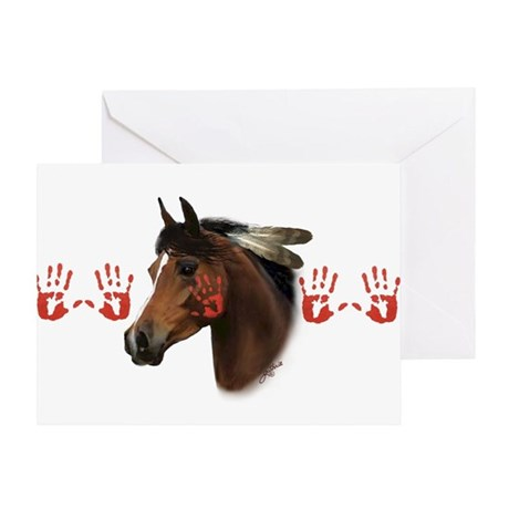 War Horse Greeting Card