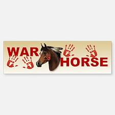 War Horse Bumper Bumper Bumper Sticker
