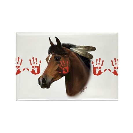 War Horse Rectangle Magnet (10 pack)