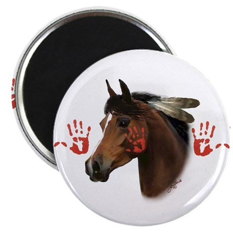 "War Horse 2.25"" Magnet (10 pack)"