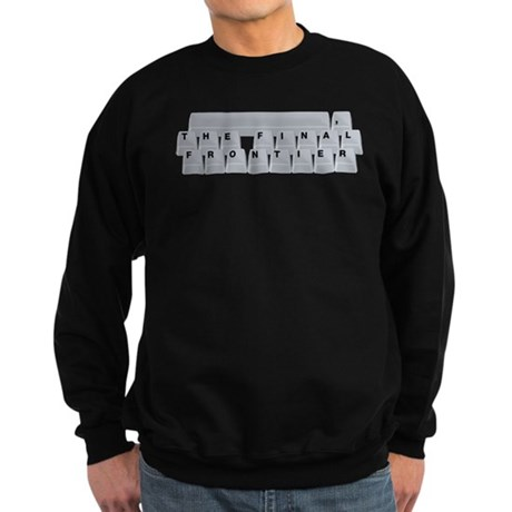 Space(bar) The Final Frontier Sweatshirt (dark)