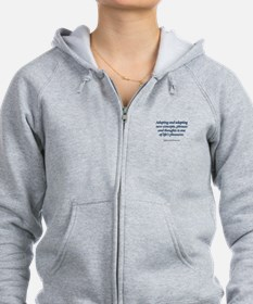 Funny Expressions and sayings Zip Hoodie