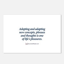 Cute Expressions and sayings Postcards (Package of 8)