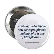 """Cute Expressions and sayings 2.25"""" Button (10 pack)"""
