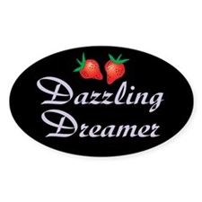 Roswell Dreamer Oval Decal
