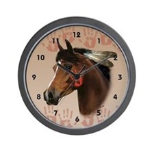 War Horse Wall Clock