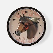 War Horse Wall Clock