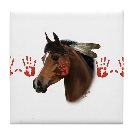 War Horse Tile Coaster