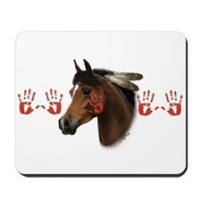War Horse Mousepad