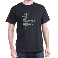 Computer Black T-Shirt