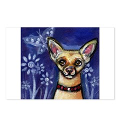 New! Dog eyes butterfly colle Postcards (Package o