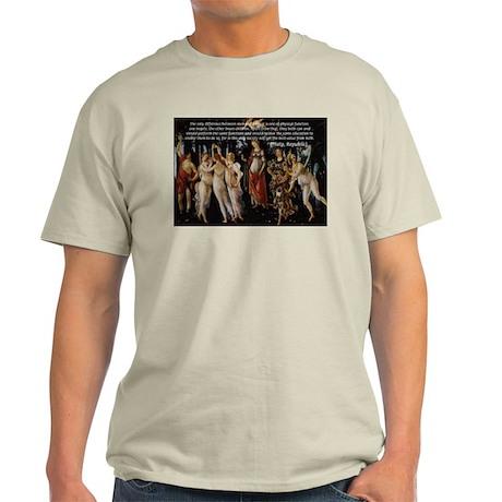 Sexual Philosophy Plato Ash Grey T-Shirt