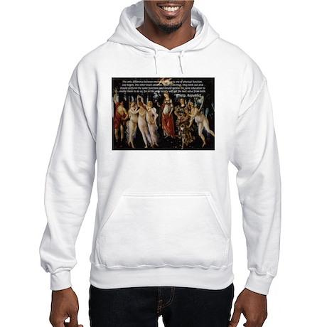 Sexual Philosophy Plato Hooded Sweatshirt