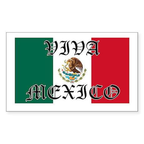 VIVA MEXICO SHIRT Rectangle Sticker